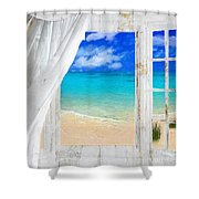 Summer Me Iv Shower Curtain