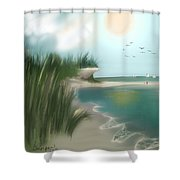 Summer Memory Shower Curtain