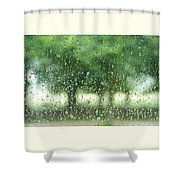Summer Mist Shower Curtain