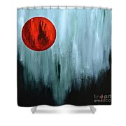 Summer Morning Sunrise Shower Curtain