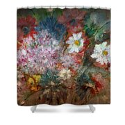 Summer Night Shower Curtain