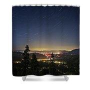 Summer Night South Lake Tahoe Shower Curtain