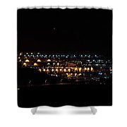 Summer Nights Shower Curtain