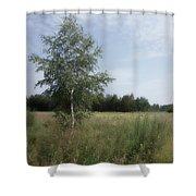 Summer Noon Shower Curtain