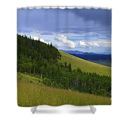Summer On Kenosha Pass Shower Curtain