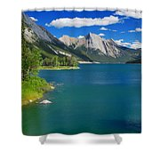 Summer On Medicine Lake Shower Curtain
