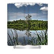 Summer On Waukeena Lake Shower Curtain