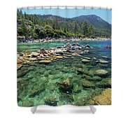 Summer Paddle Shower Curtain
