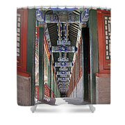 Summer Palace 2 Shower Curtain