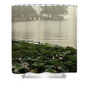Summer Palace Serenity Shower Curtain