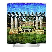 Summer Pergola Rest Spot Shower Curtain