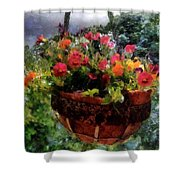 Summer Picture Window Shower Curtain