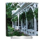 Summer Porch Shower Curtain