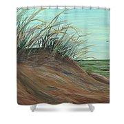 Summer Sand Dunes Shower Curtain