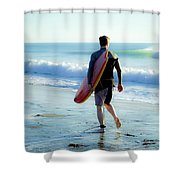 Summer Session Shower Curtain