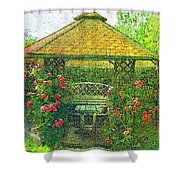 Summer Shelter Shower Curtain
