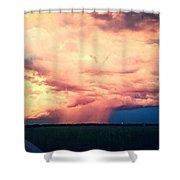 Summer Shower Shower Curtain