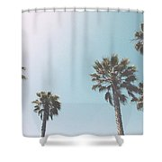 Summer Sky- By Linda Woods Shower Curtain