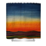 Summer Stillness In Montana   71 Shower Curtain