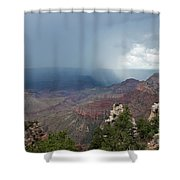 Summer Storm North Rim Grand Canyon National Park Arizona Shower Curtain