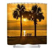 Summer Sunrise - Charleston Sc Shower Curtain