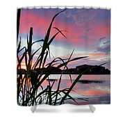 Summer Sunset 03 Shower Curtain