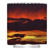 Summer Sunset 04 Shower Curtain