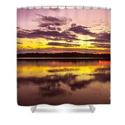 Summer Sunset 1 Shower Curtain