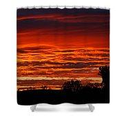 Summer Sunset 2 Shower Curtain