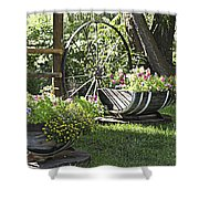 Summer Sweetness In Color Shower Curtain