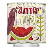 Summer Thyme-jp2832 Shower Curtain