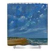 Summer Tides  Shower Curtain