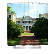 Summer Time At Sweet Briar House Shower Curtain