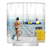 Summer Time Shower Curtain