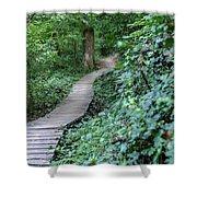 Summer Trail Path Shower Curtain