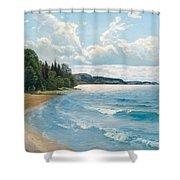 Summer View Shower Curtain