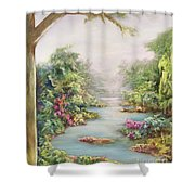 Summer Vista Shower Curtain