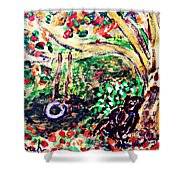 Summer Went By Too Quickly 2 Shower Curtain