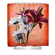 Summer Wild Flowers  Shower Curtain