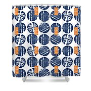 Summer Wine Corks- Art By Linda Woods Shower Curtain
