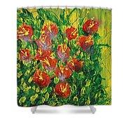 Summer's Bloom Shower Curtain