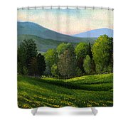 Summers Ending Shower Curtain