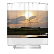 Summers Evening In North Yorkshire Shower Curtain