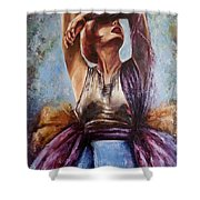 Summer's Extravaganza.  Shower Curtain