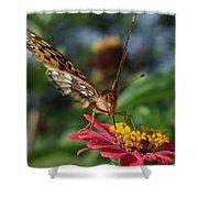 Summer's Sweet Nectar Shower Curtain