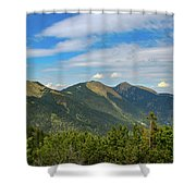 Summertime Alps In Germany Shower Curtain