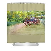Summertime At The Barn Shower Curtain
