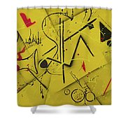 Summertime Concert Shower Curtain