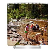 Summertime Fun Shower Curtain