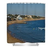 Summertime In Albufeira Shower Curtain